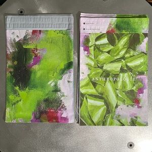 """30 Anthropologie Poly Mailers, 14"""" x 19"""""""
